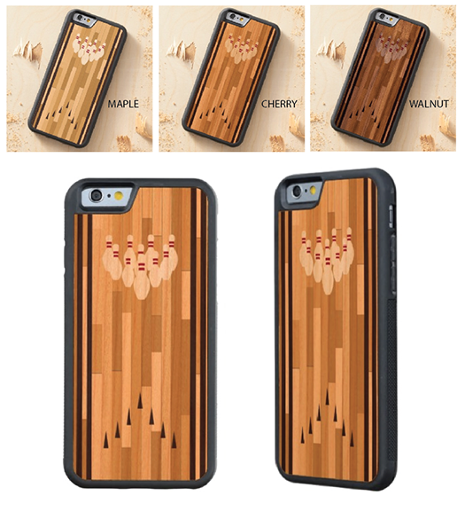 http://www.zazzle.com/bowling_lane_wood_iphone_6_carvedcase-256142391853918384?rf=238845468403532898
