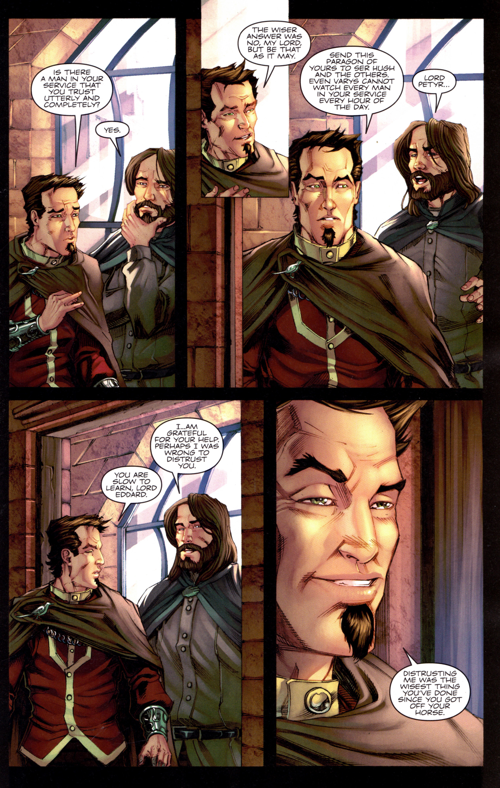 Read online A Game Of Thrones comic -  Issue #8 - 11