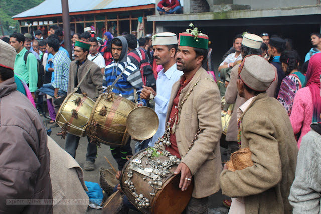 Shaun festival celebration in Malana