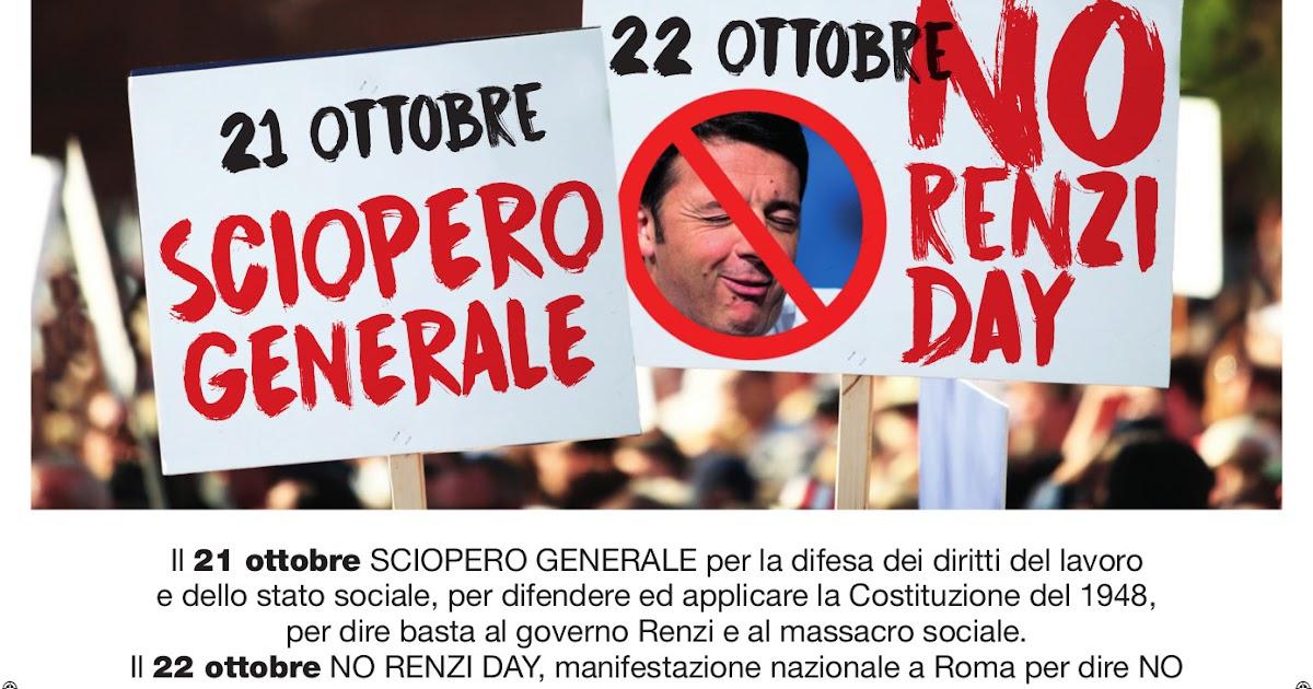 Risultati immagini per 22 ottobre no renzi day
