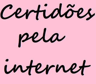 como obter certidões pela internet