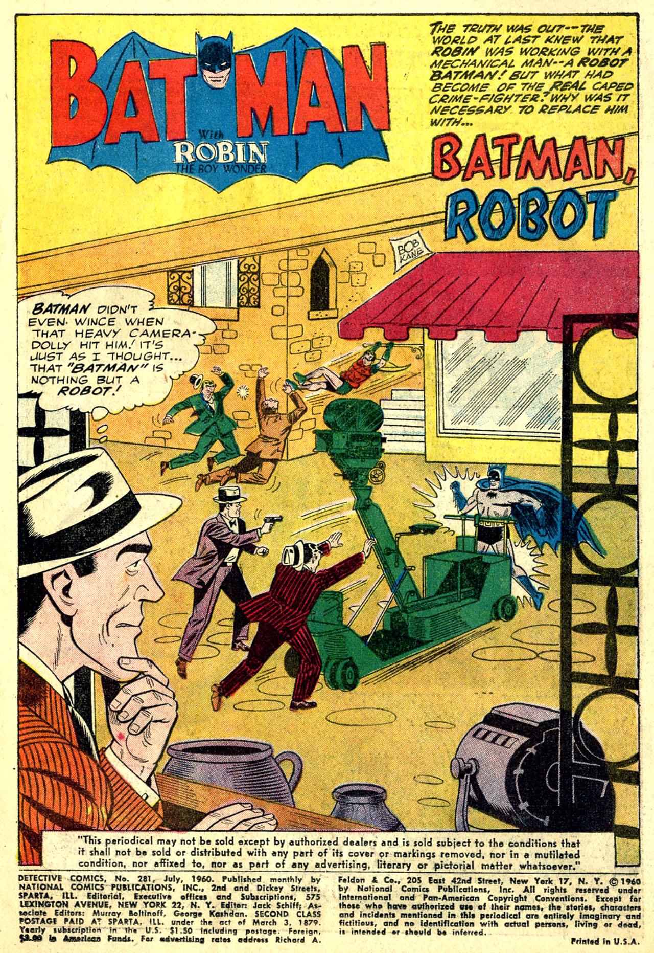 Detective Comics (1937) 281 Page 2
