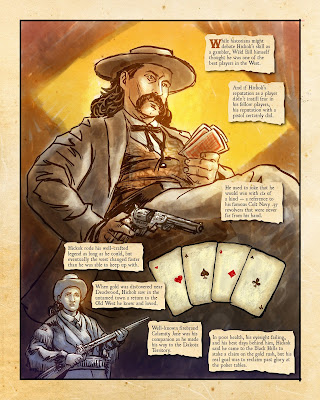 Dead Man's Hand Comic by Robert Rath