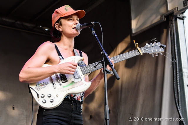Land of Talk at Riverfest Elora 2018 at Bissell Park on August 19, 2018 Photo by John Ordean at One In Ten Words oneintenwords.com toronto indie alternative live music blog concert photography pictures photos