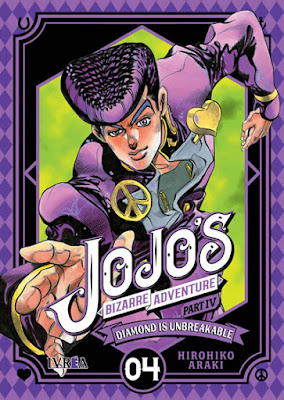"Reseña de ""JoJo's Bizarre Adventure Part IV: Diamond Is Unbreakable"" vol 4 de Hirohiko Araki - Ivréa"