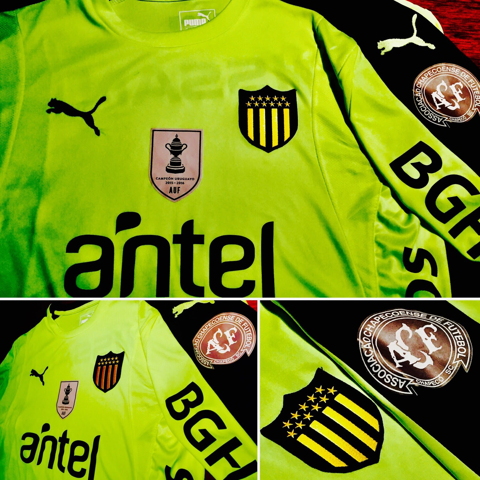 59ffa6207f Peñarol usará camisa verde em homenagem a Chapecoense - Show de Camisas