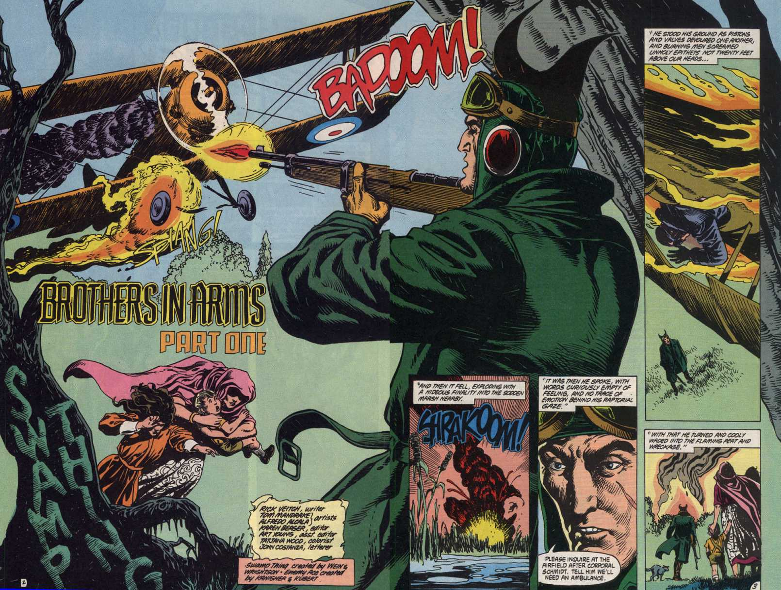 Swamp Thing (1982) Issue #83 #91 - English 3