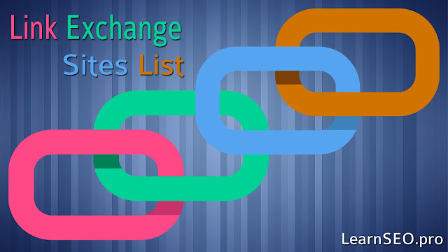 Link Exchange Directory Sites List