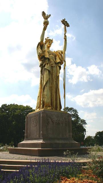 Jackson Park à Chicago statue La Révolution française