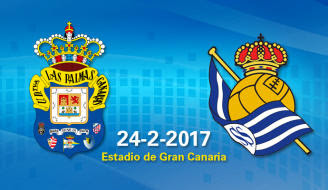 Ver Las Palmas vs Real Sociedad EN VIVO Online Gratis 2017