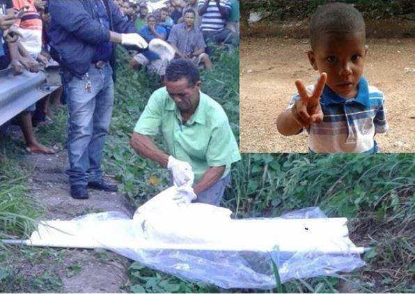 Hallan dentro de funda cadáver de niño de 3 años reportado desaparecido en Higüey RD