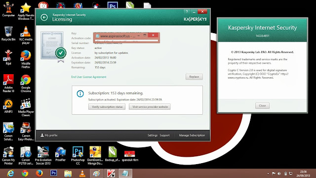 Kaspersky Internet Security 2014 Full Serial Key - RGhost
