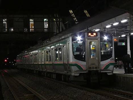 【仙台suicaエリア南端へ!】701系の東北本線 矢吹行き
