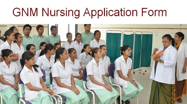 GNM Nursing Application Form