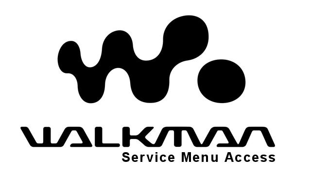 Sony Walkman Service Menu Access (Update 2016) - The Walkman