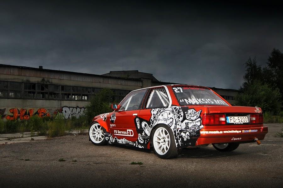 Bmw E30 Drift Wallpaper