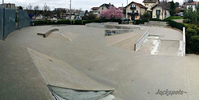 Skatepark Annecy le vieux