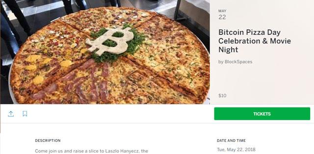Barang Pertama yang Dibeli Memakai Bitcoin Adalah Pizza