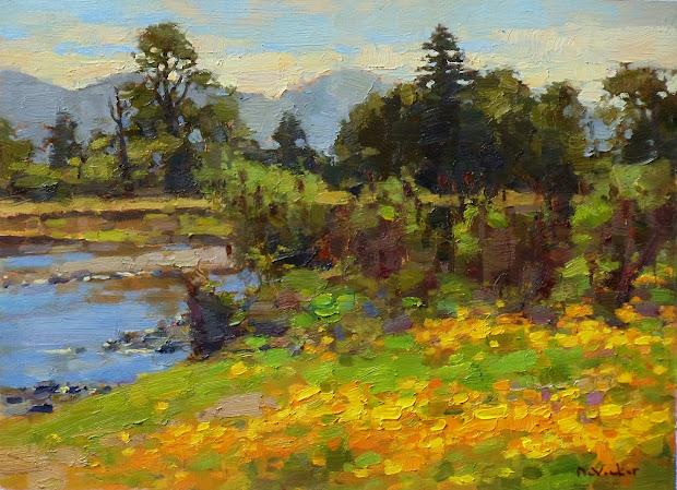 Jim Mcvicker Paintings Landscape