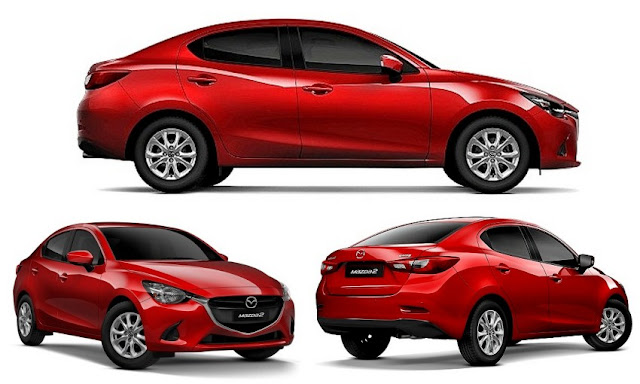Kereta Compact Sedan Popular di Malaysia - Mazda2 Sedan