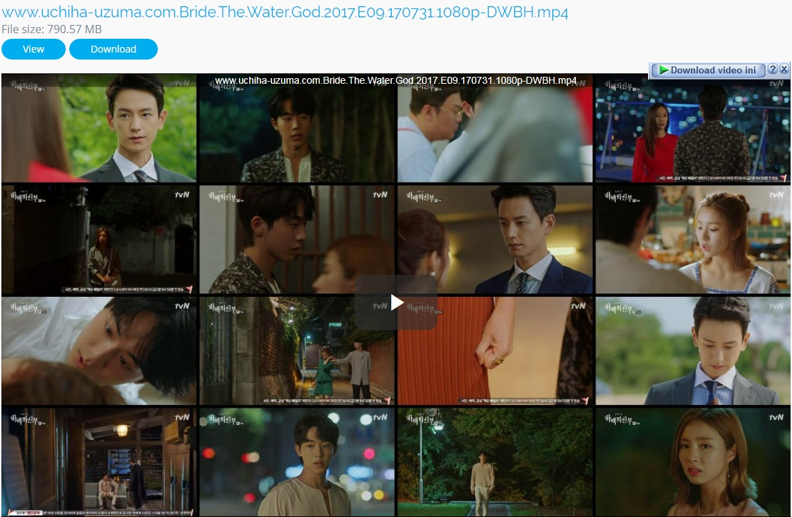 Screenshots Download Film Drama Korea Gratis Bride Of The Water God, The Bride of Habaek, 하백의 신부 (2017) Episode 09 DWBH NEXT MP4 Free