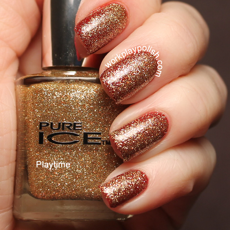 Pure Ice Playtime Swatch (work / play / polish)