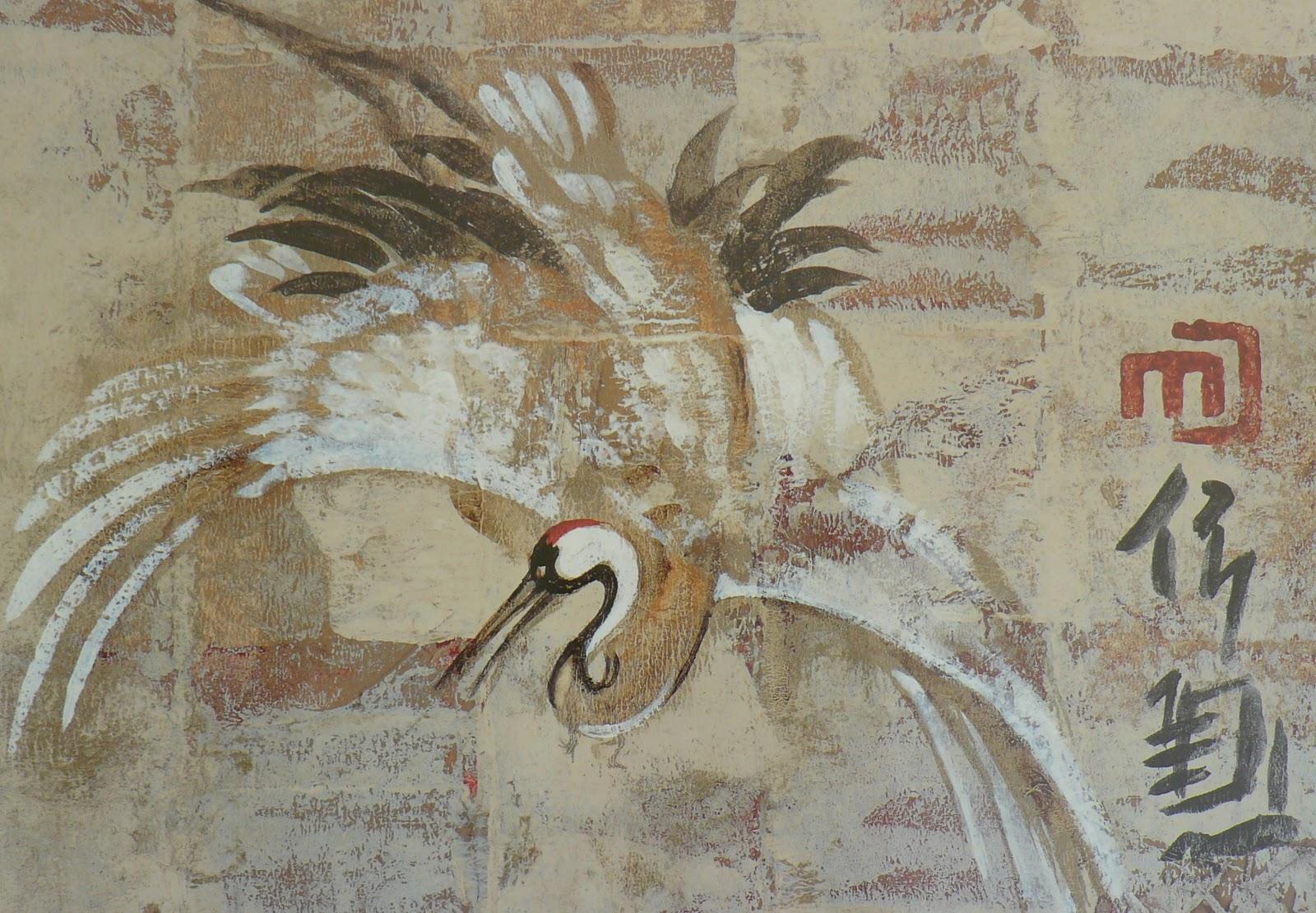 Feng Shui 8 Mansions: SYMBOLISM OF THE CRANE BIRD