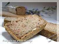 Pain Paléo aux graines de courge (sans gluten)