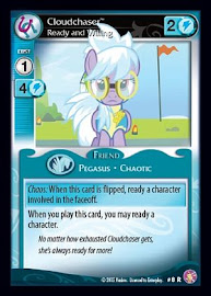 My Little Pony Cloudchaser, Ready and Willing Absolute Discord CCG Card