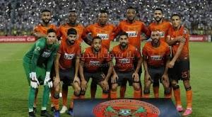 التعادل يحسم مباراة سريع وادي زم ونهضة بركان في الدوري المغربي