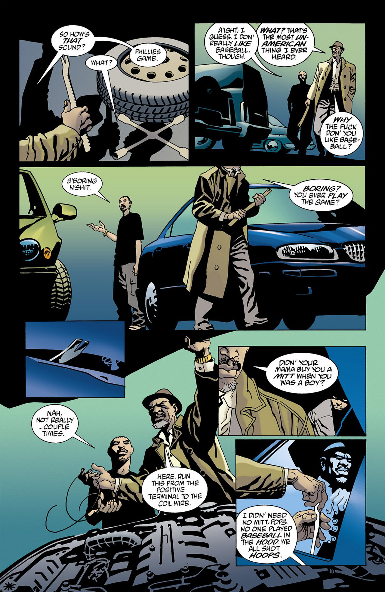 Read online 100 Bullets comic -  Issue #16 - 7