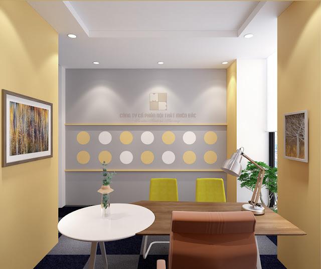 Thiết kế nội thất phòng giám đốc độc đáo, tiện ích, chi phí thấp - H2