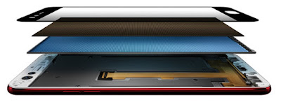 Oppo F3 Red's FHD In-Cell Display