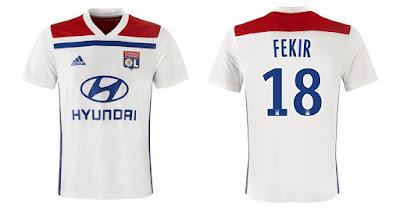 Brasil Lyonnais  Confira os dois uniformes que o Lyon usará na ... b2eb37a2be162