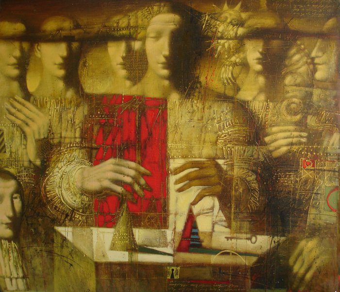 Armen Gasparian 1966   Russian symbolist painter