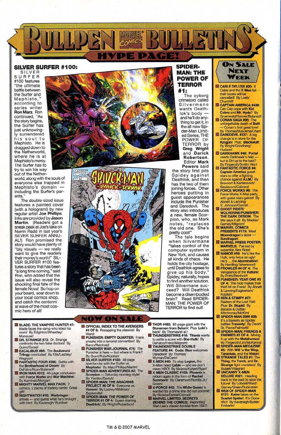 Read online Silver Surfer (1987) comic -  Issue #100 - 26
