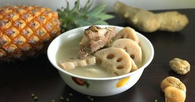 蓮藕綠豆豬骨湯 - 阿里手工坊