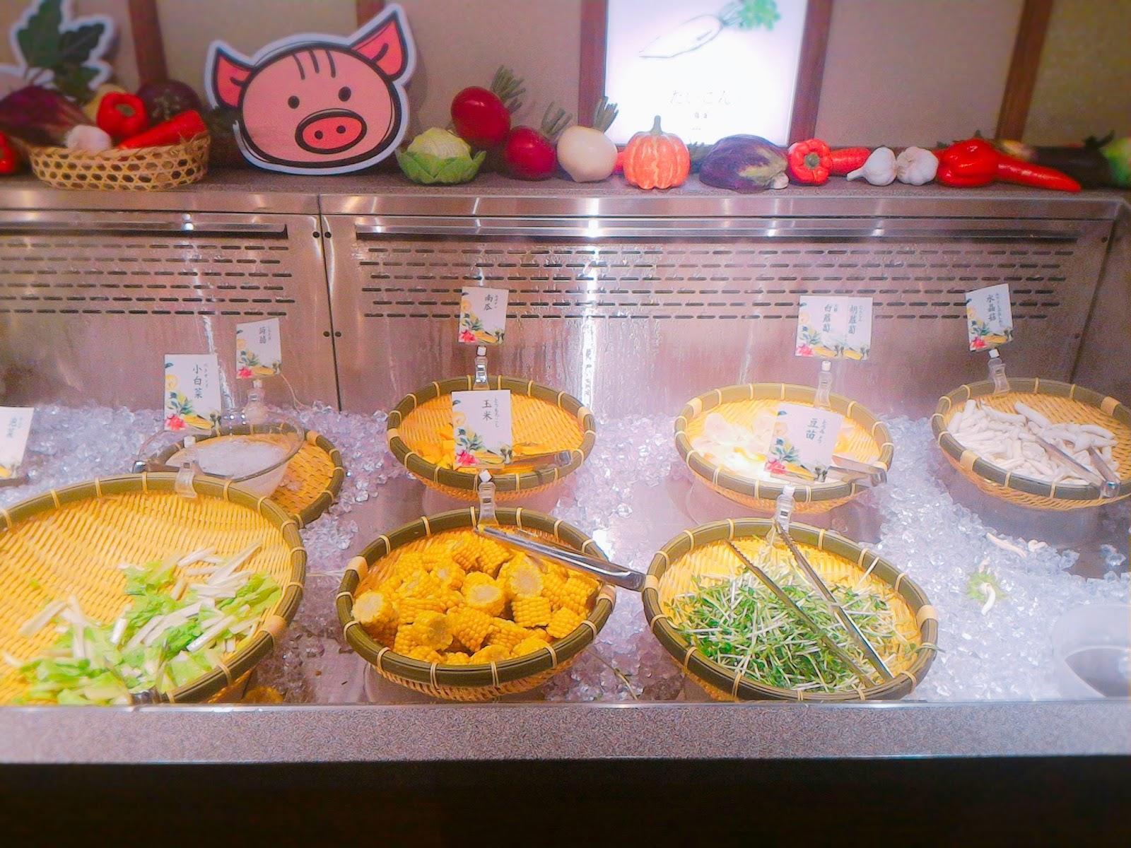 2016 10 16 19 33 44 - 【台南東區】涮乃葉吃到飽日式涮涮鍋 - 新鮮蔬菜與手工拉麵,還有超濃郁的霜淇淋!