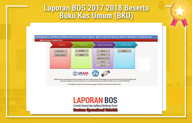 Laporan BOS 2017 2018 Beserta Buku Kas Umum (BKU)