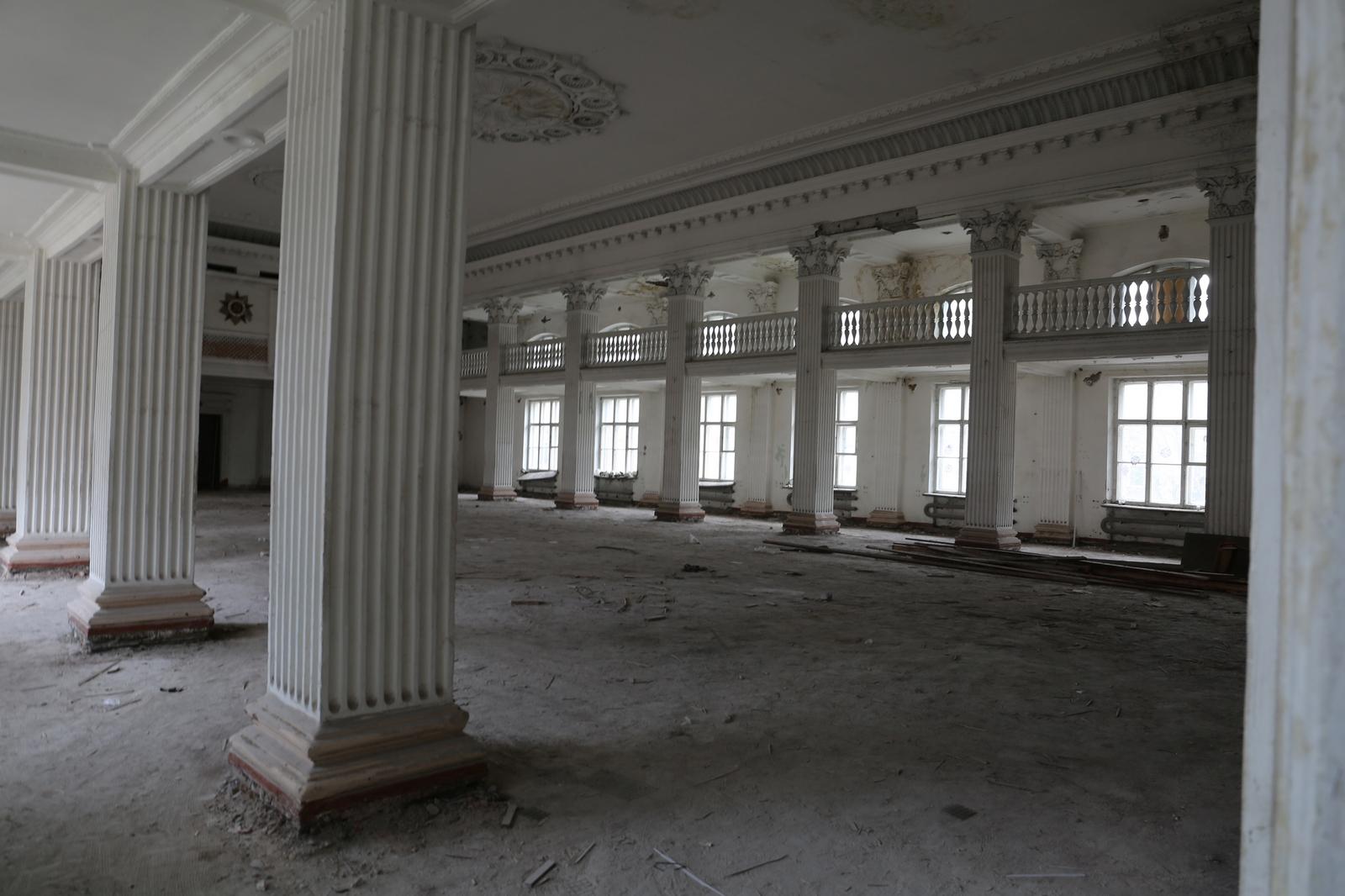перший етап будівництва бази ВМС в Одесі