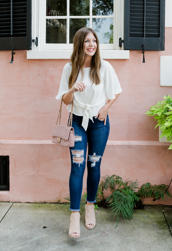 Transitioning Your Wardrobe To Fall When It's Still Hot Out | Chasing Cinderella