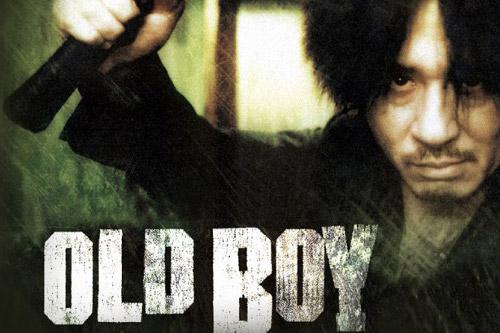 Old boy 2003 movie poster