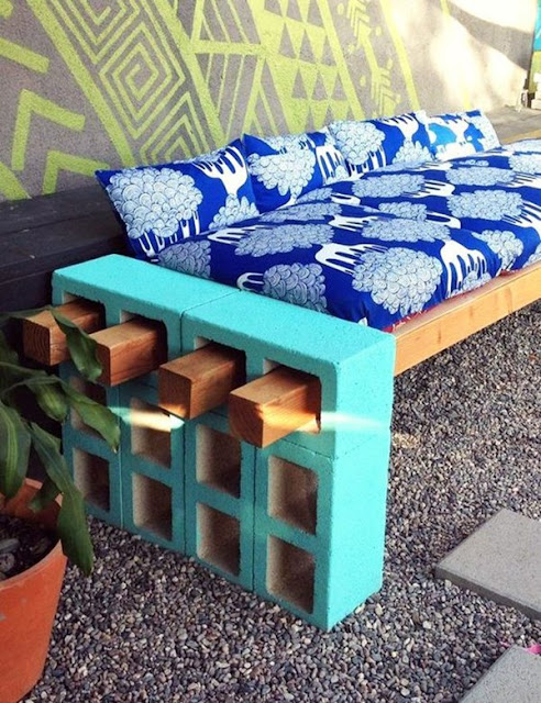 Decorate With Concrete Blocks 10