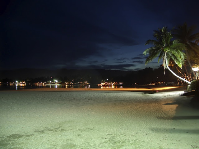 Koh Samui at night. Photo courtesy of iStock/savoia.