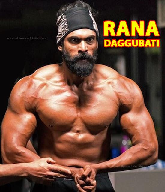 Rana Daggubati Bodybuilding releases photos for Bahubali 2
