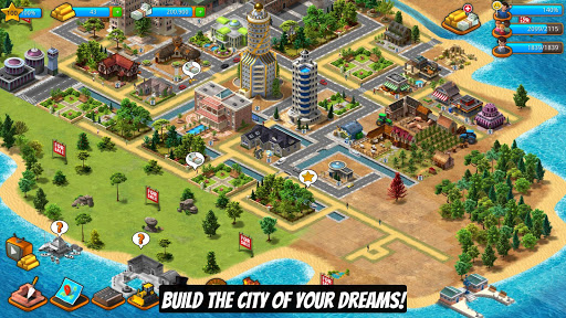 Free Download Paradise City Island Sim Android APK MOD