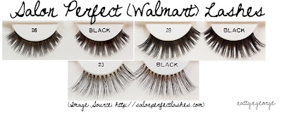 Salon Perfect (same as Andrea Lashes) Walmart Lashes