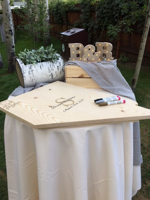 state wedding guest book