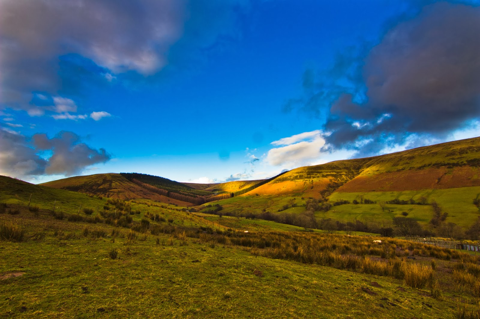 Vale of Ewyas (Black Mountains, South Wales)