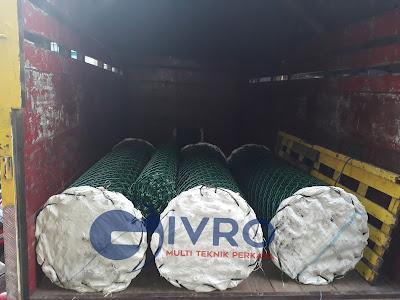 Pabrik Kawat Harmonika PVC & Galvanis